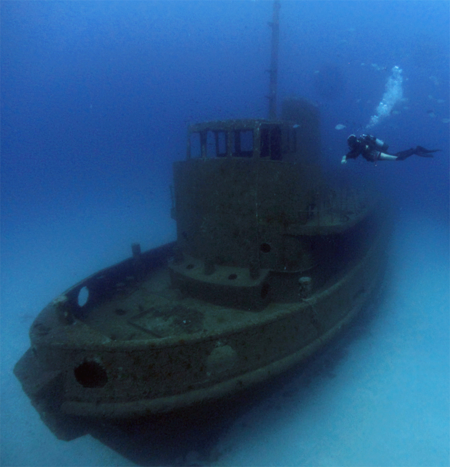 wreck diving in Malta