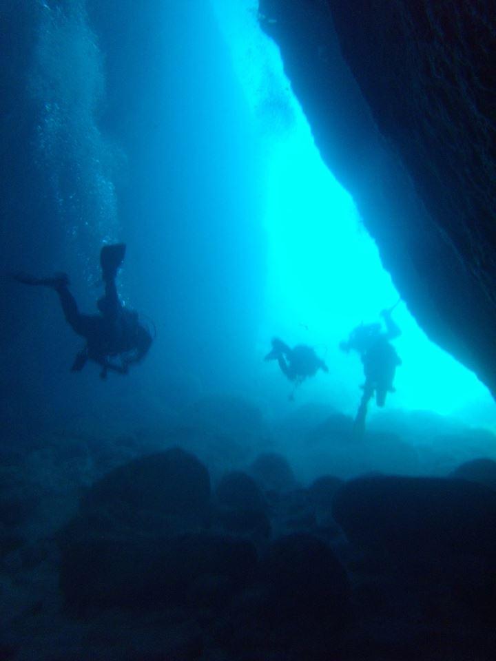 Bezz Diving Malta Cave